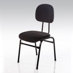 Cadeira Estofada 4 Pés Secretária