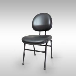 Cadeira Estofada Executiva 4 Pés