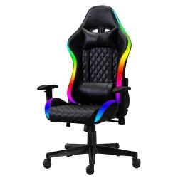 Cadeira Gamer MC RGB Preta com Iluminação (Led)