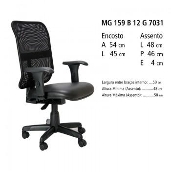 REVOLUTION Diretor Tela Back System MG 159 B 12 G 7031