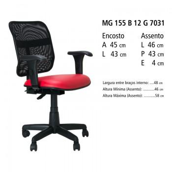 RELEVO Executiva Back System MG 155 B 12 G 7031