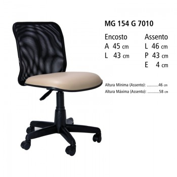 RELEVO Executiva Tela com Lamina MG 154 G 7010