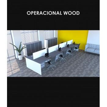 Linha Operacional Wood - Amb.1
