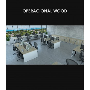 Linha Operacional Wood - Amb.2