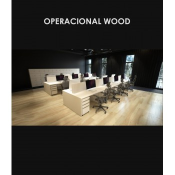 Linha Operacional Wood - Amb.3