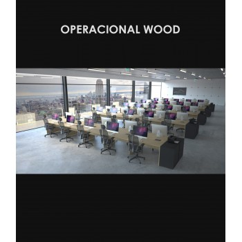 Linha Operacional Wood - Amb.4