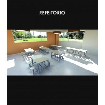 LINHA REFEITÓRIO - AMB.2 MADÚ